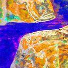 Golden fish, deep blue sea by hdettman
