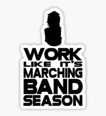 Marching Season Sticker