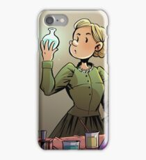 Marie Curie Comic Cover iPhone Case/Skin