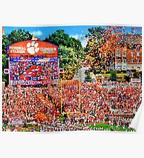 Clemson Most Exciting 25 Seconds  Poster