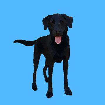Dog - Black Pup Design by oggi0