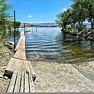 Topaz Lake Boat Launch by Joe Lach