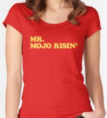 The Doors - Mr. Mojo Risin' Women's Fitted Scoop T-Shirt