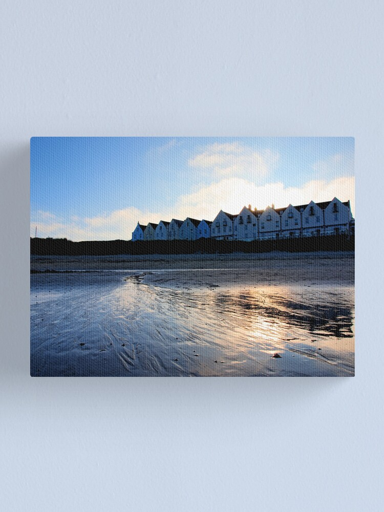 Alternate view of Braye Houses - Alderney Canvas Print