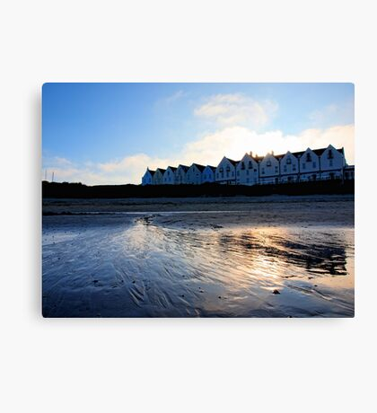 Braye Houses - Alderney Canvas Print