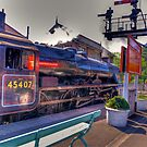 Beware  Lady Driver  at Grosmont by Trevor Kersley