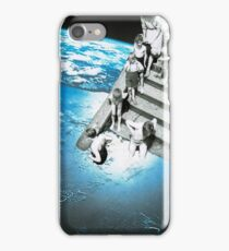 In at the deep end iPhone Case/Skin