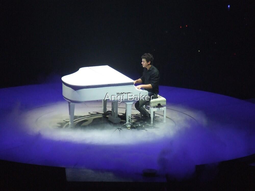 Nick Jonas by Angi Baker