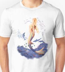 Sunrise Mermaid Slim Fit T-Shirt