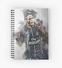 Neymar JR Spiral Notebook