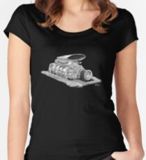 Mad Max Interceptor Supercharger Women's Fitted Scoop T-Shirt