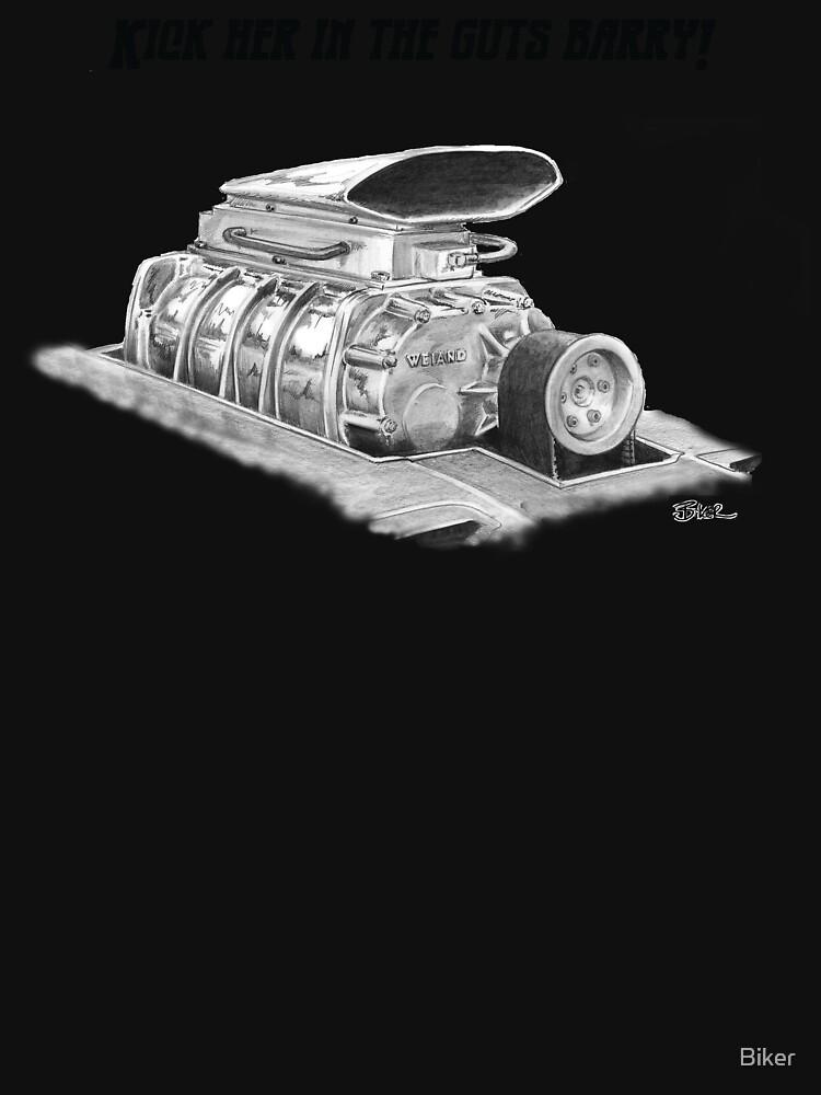 Mad Max Interceptor Supercharger by Biker