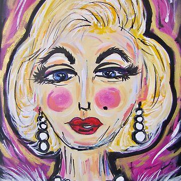 Mesmerising Marilyn  by TraceyMackieArt
