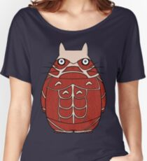 Attack on Totoro Women's Relaxed Fit T-Shirt