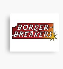 Border Breakers logo - Color Canvas Print