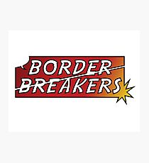 Border Breakers logo - Color Photographic Print
