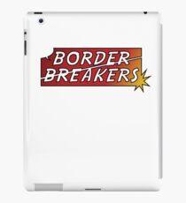 Border Breakers logo - Color iPad Case/Skin