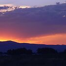 Cache Valley Sunset by gentleone