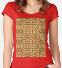 Rope Patterns 7 Women's Fitted Scoop T-Shirt