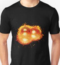 Balls basketball games burning Unisex T-Shirt