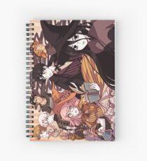 Grown up Hooky Spiral Notebook