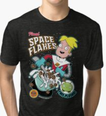 Final Space Flakes Tri-blend T-Shirt