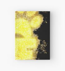 Paw print paws glowing Art Hardcover Journal