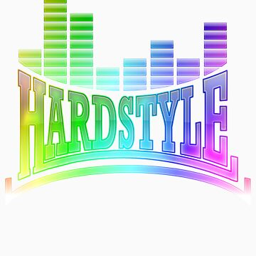 Hardstyle T-Shirt - Rainbow by Coreper