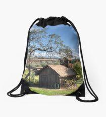 Garden Shed Drawstring Bag