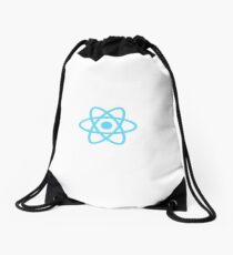 React, ReactJS Logo Drawstring Bag