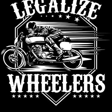 Legalize Wheelers Vintage Motorbike by NiceTeee