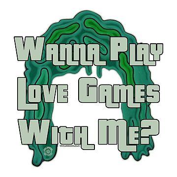Mighty Boosh by Eye Voodoo - Old Gregg Love Games mk1 by eyevoodoo