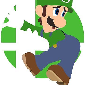 Super Smash Bros. Ultimate - Luigi by PrincessCatanna