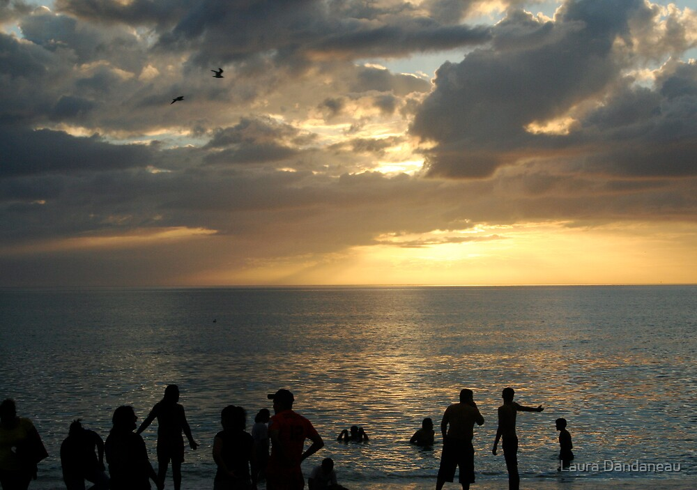 Sunset on Manasota Key by Laura Dandaneau