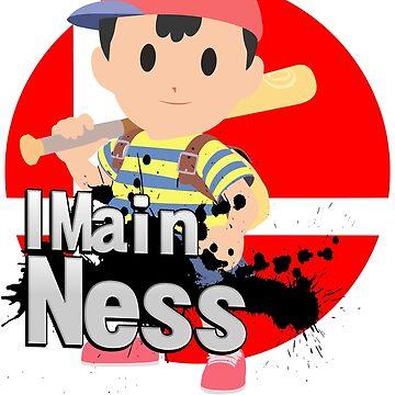Super Smash Bros. Ultimate - I Main Ness by PrincessCatanna