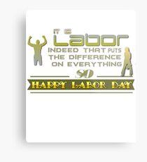 laborday Metal Print