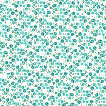 Boho Floral Bloom pattern by raquelcasilda