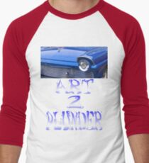 Classics 5-Blue Men's Baseball ¾ T-Shirt