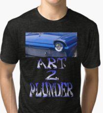 Classics 5-Blue Tri-blend T-Shirt