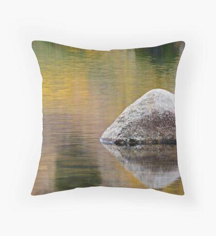 Sinks Canyon, Fall Reflection Throw Pillow