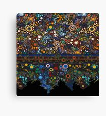 Tapastry Abstract Lace Patterns Canvas Print