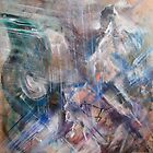 Thunderstorm on the Bridge of the Angels, original painting forever by Dmitri Matkovsky