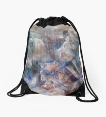 Thunderstorm on the Bridge of the Angels, original painting forever Drawstring Bag