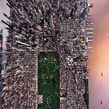 A Piece of Manhattan by michaelroman