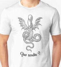 Quo tendis ? Unisex T-Shirt