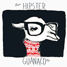 Hipster Guanaco, from the Camelid Scene by Ariel Vittori