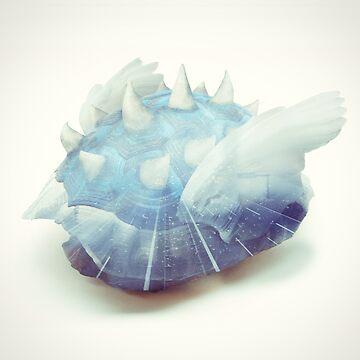 Blue Shell - Kart Art by andywynn