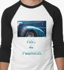 Classics 2-Teal Men's Baseball ¾ T-Shirt