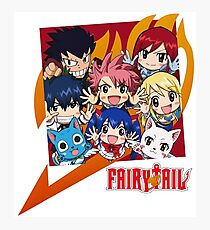 Fairy Tail Nakama !  Photographic Print