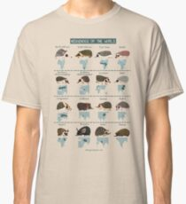 Hedgehogs of the World Classic T-Shirt